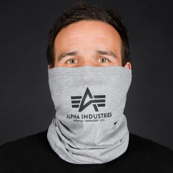 Basic Logo Tube Mask - greyheather/black