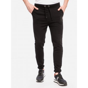 Rubber Patch Jogger - black