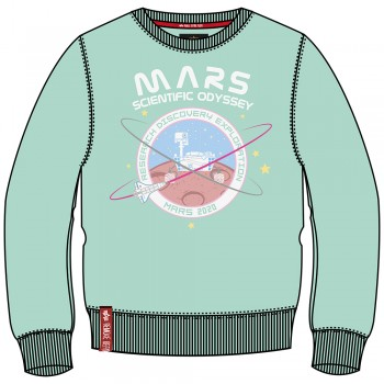 Mission To Mars Sweater Woman - pastel mint