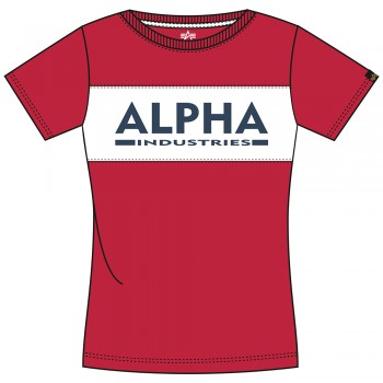 Alpha Inlay T Woman - speed red