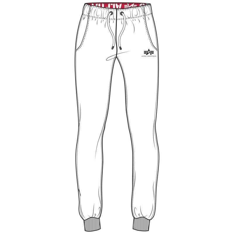Basic Sweat Pant Woman - white