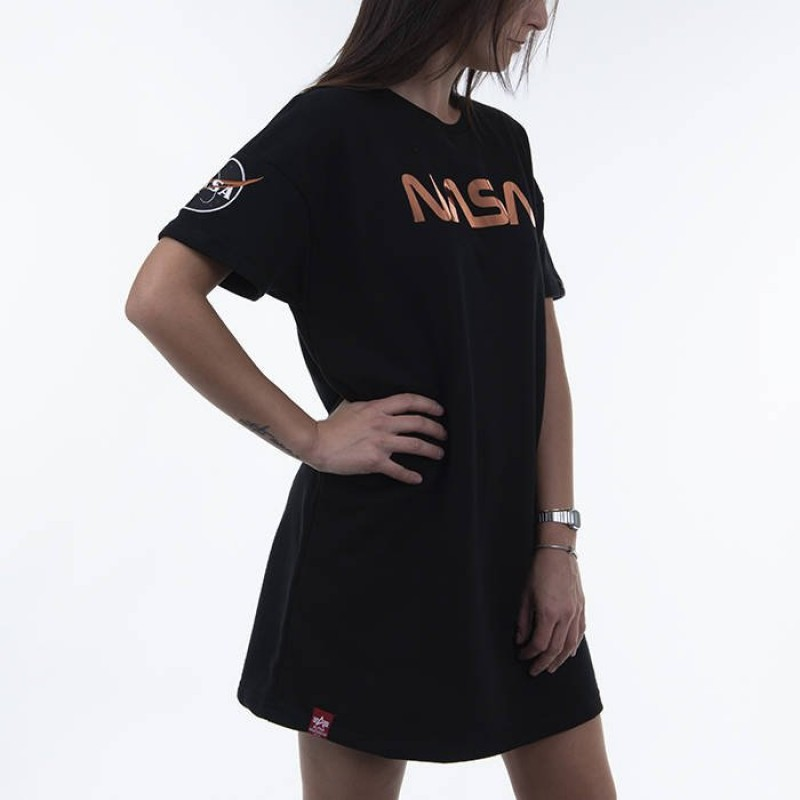NASA Long T OS Woman - black