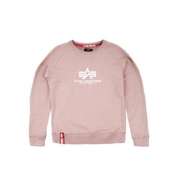 New Basic Sweater Woman - mauve