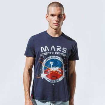Mission To Mars T - replica blue