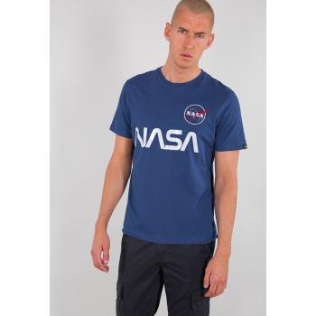 NASA Reflective T - nasa blue