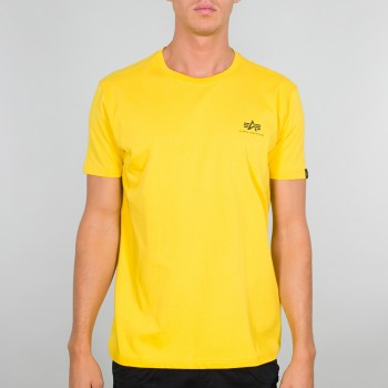 Basic T Small Logo - empire yellow