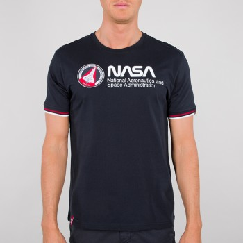 NASA Retro T - replica blue