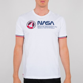 NASA Retro T - white