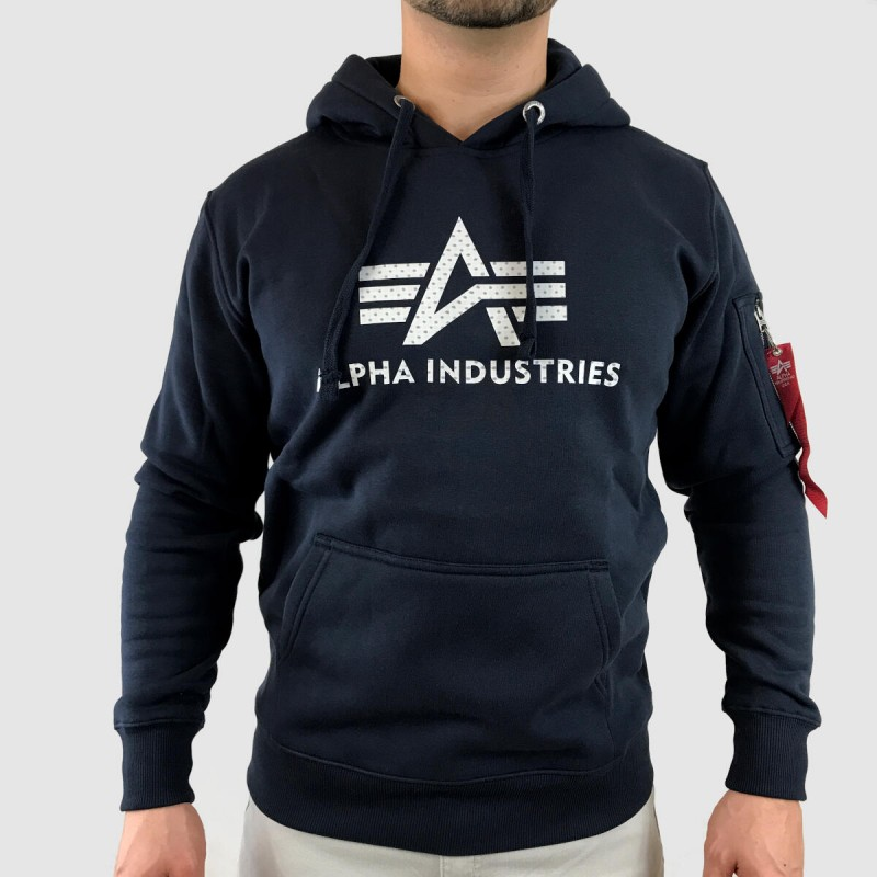 3D Logo Hoody - replica blue