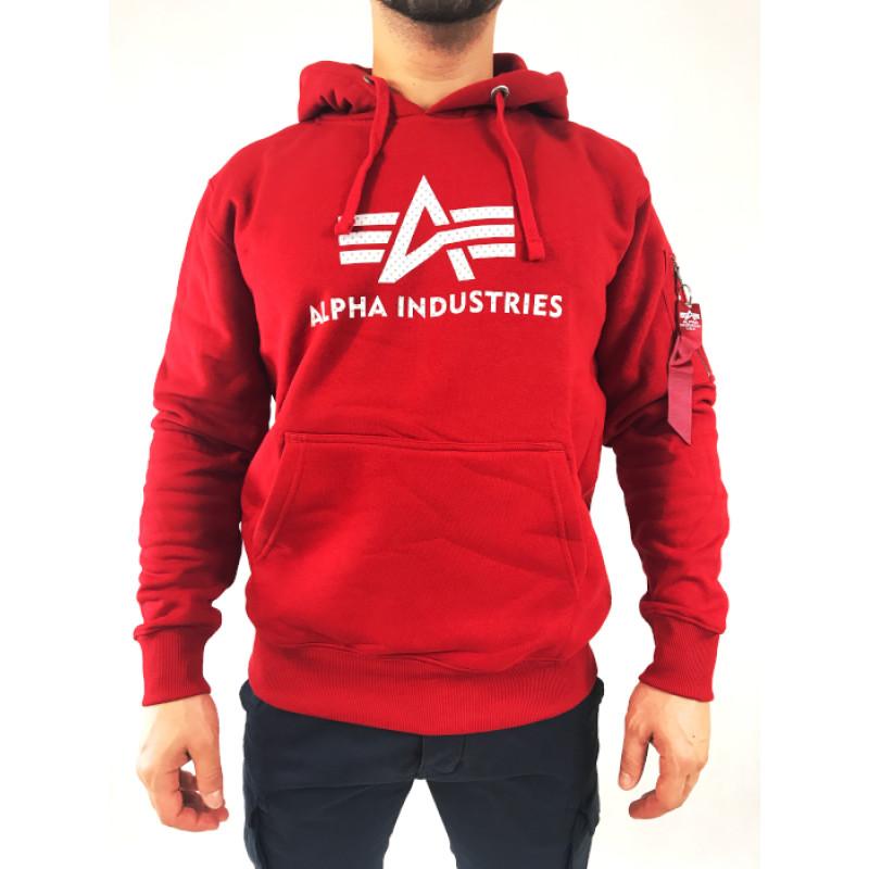 3D Logo Hoody - speed red