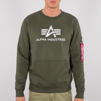 3D Logo Sweater - dark olive