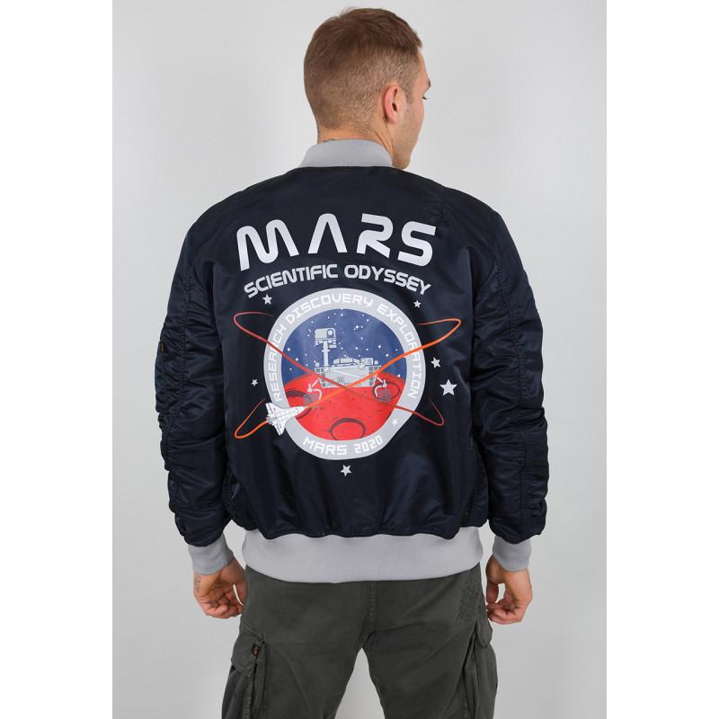 MA-1 LW Mission To Mars - replica blue