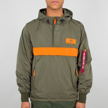 Defense Anorak - dark green