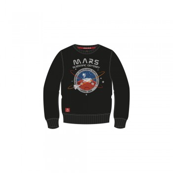 Mission To Mars Sweater Kids - black