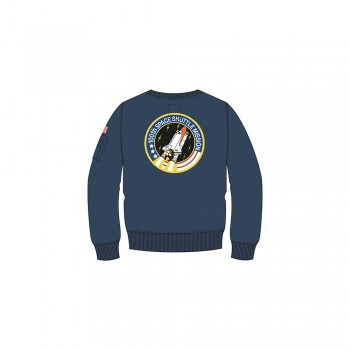 Kids Space Shuttle Sweat - replica blue