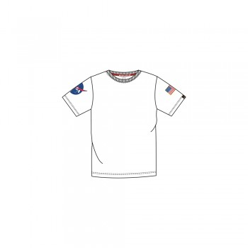 Kids NASA T - white