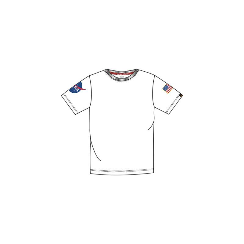 Kids NASA T - white