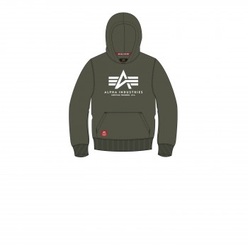 Basic Hoody Kids/Teens - dark olive