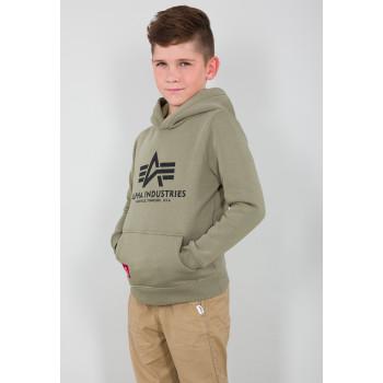 Basic Hoody Kids/Teens - olive