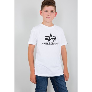 Basic T Kids/Teens - white