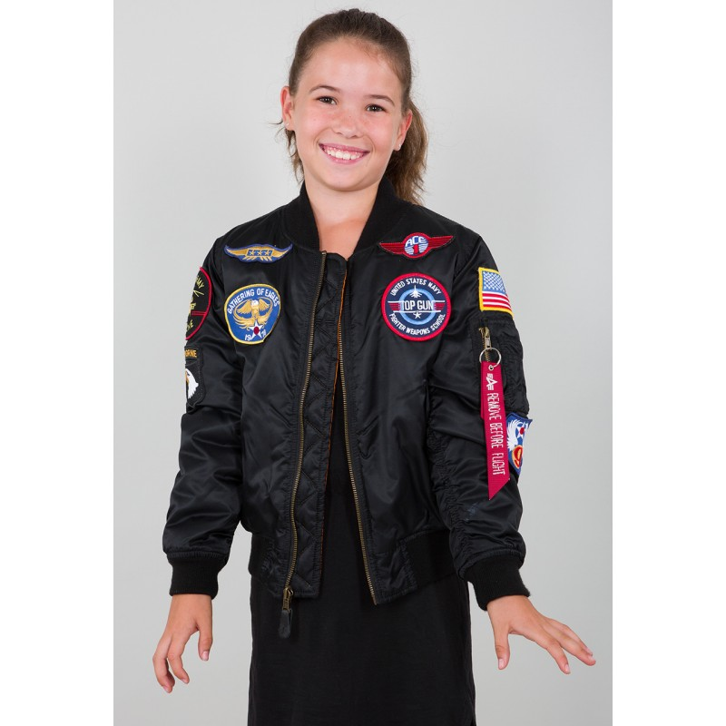 MA-1 Patch Youth - black