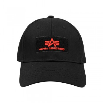 Velcro Cap II - black/red