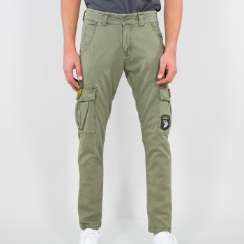 Petrol Patch Pant - olive