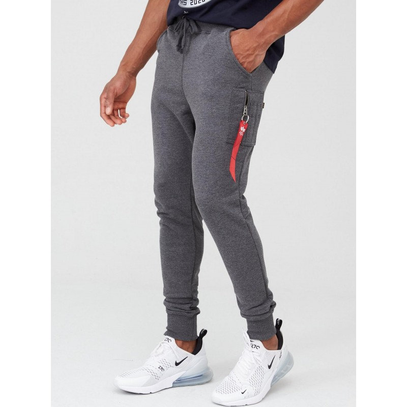 X-Fit Slim Cargo Pant - charcoal heather