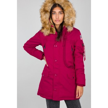 Polar Jacket Woman - major red
