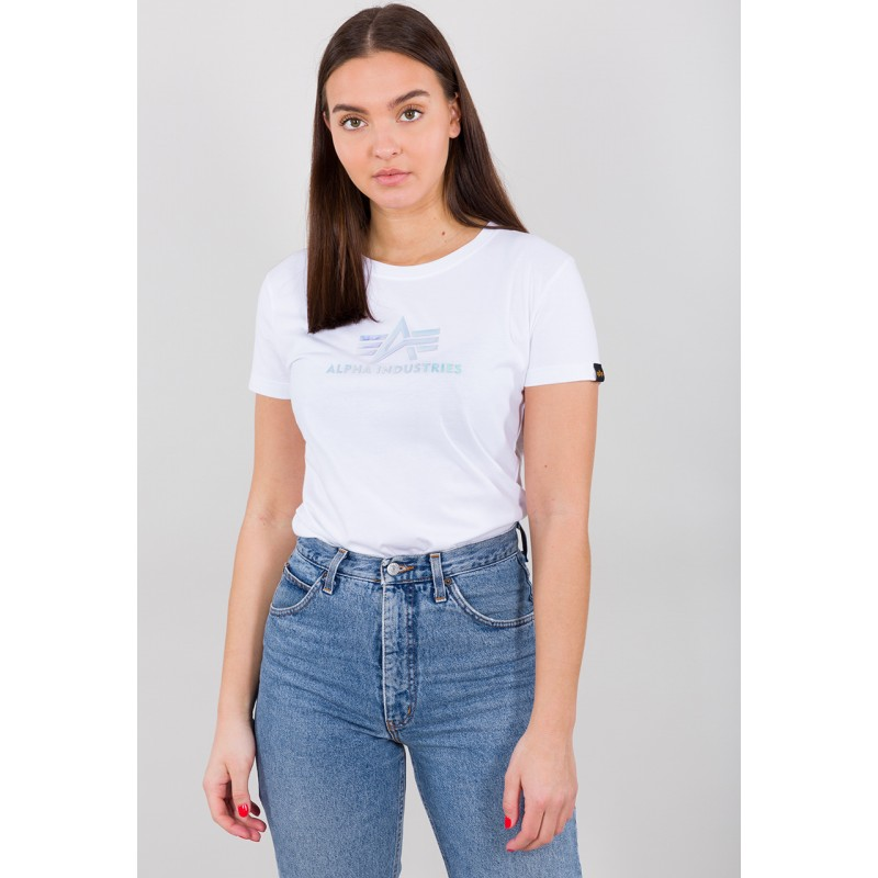 Rainbow T Woman - white
