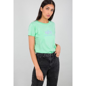 Rainbow T Woman - pastel mint