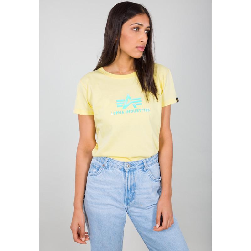 Rainbow T Woman - pastel yellow