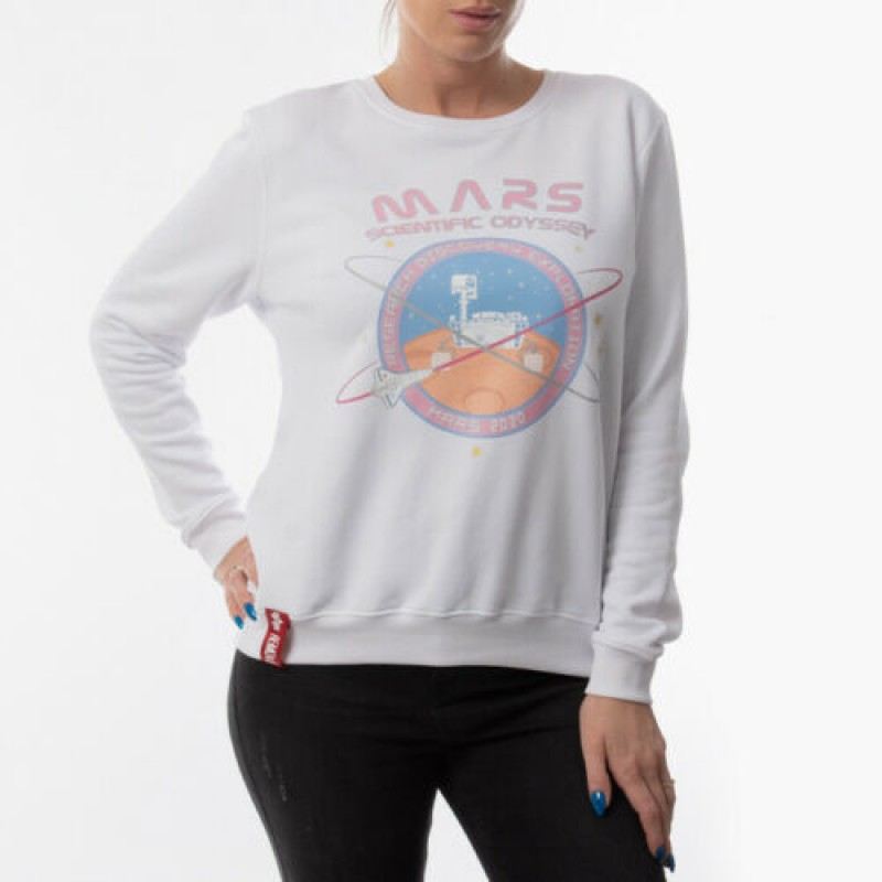 Mission To Mars Sweater Woman - white