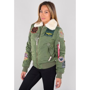 Injector III Patch Woman - sage green