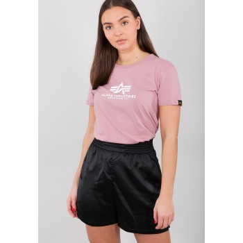 New Basic T Woman - silver pink