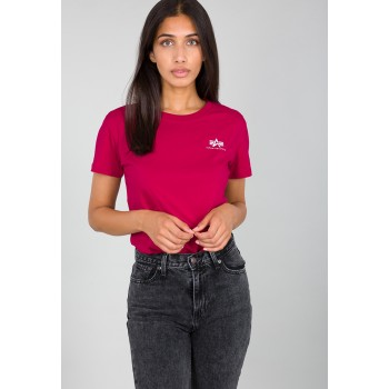 Basic T Small Logo Woman - major red
