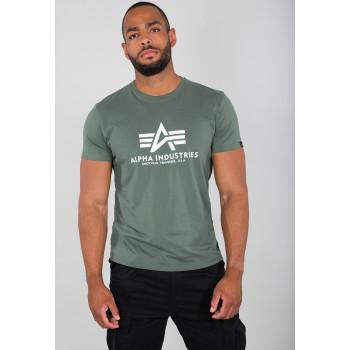 Basic T - vintage green