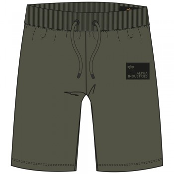 Rubber Patch Short - dark olive