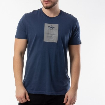 Reflective Label T - new navy