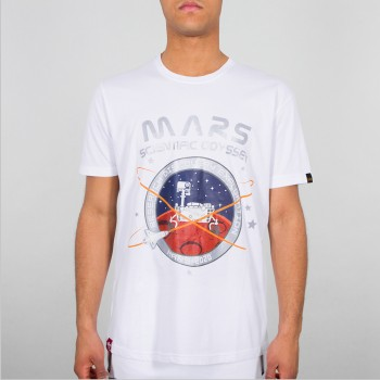 Mission To Mars T - white