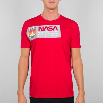 Mars Reflective T - speed red