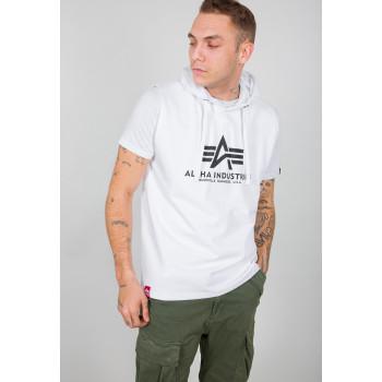 Basic Hooded Tank - white