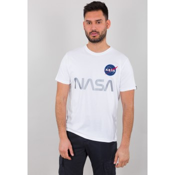 NASA Reflective T - white
