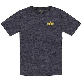 Basic T Small Logo - charcoal heather