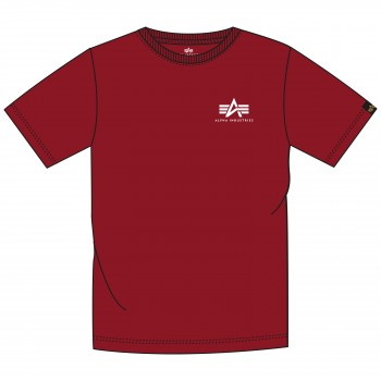 Basic T Small Logo - rbf red