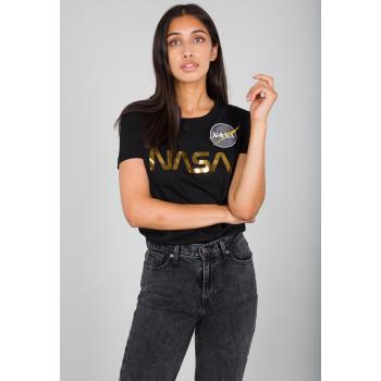 NASA PM T Woman - black/gold