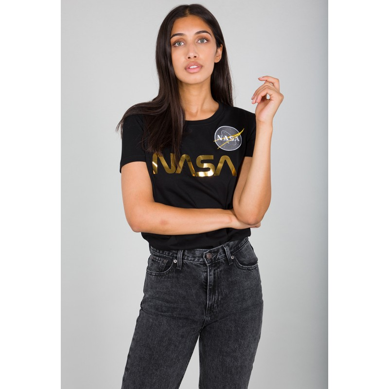 NASA PM T Woman - black/gold