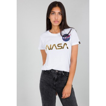 NASA PM T Woman - white/gold