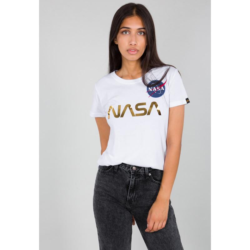 NASA PM T Woman - white/gold