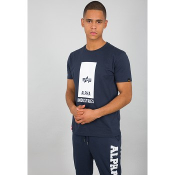 Block Logo T - new navy